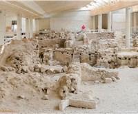 Excavations of Akrotiri