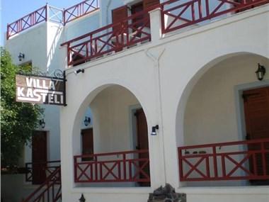 Villa Kasteli, hotels in Perissa