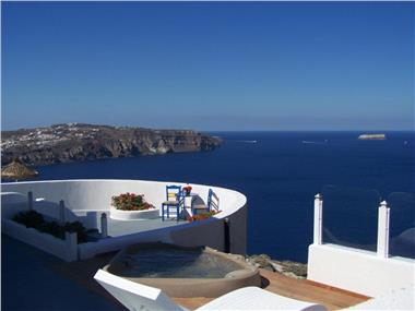 Caldera View Private Villa, hotels in Megalochori