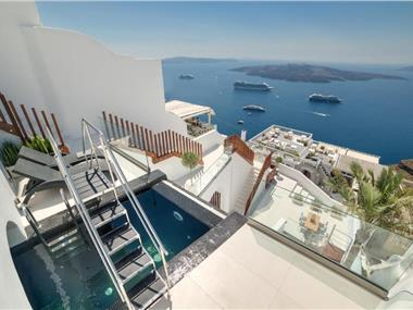 Day Dream Luxury Suites, hotels in Fira