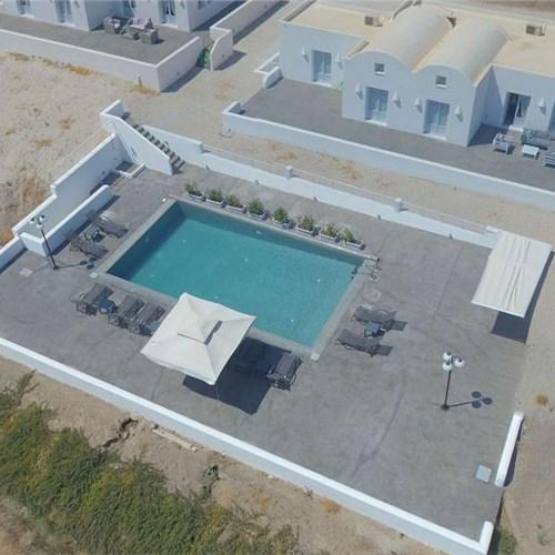 Aerial View of Sea & Sand Villas