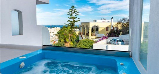 Photo of The Muse of Santorini Private Jaccuzzi Suite