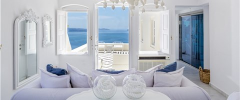 Presidential Suite Plunge Pool Caldera Sea View