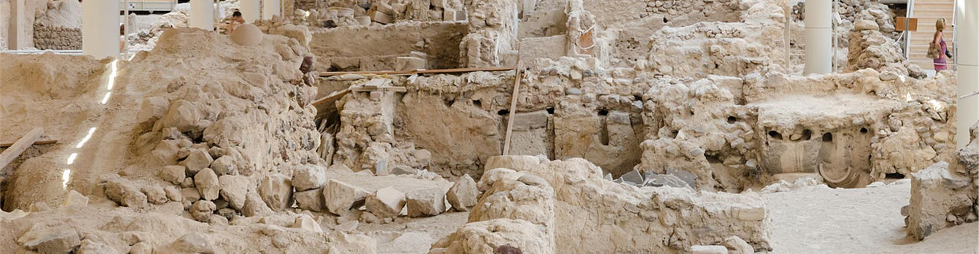 Excavations of Akrotiri - Museums - Santorini