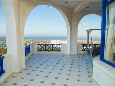 Villa Eva with Panoramic view, hotels in Vothonas