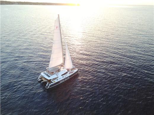 Romantic Catamaran Cruise in Santorini with lunch or dinner on board  - Catamaran Cruises - Santorini View