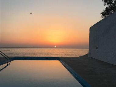 Santorini Grace Villa N01, hotels in Finikia