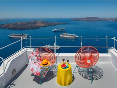 Barocco Bello Villa, hotels in Fira