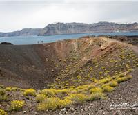 Hiking Santorini's Volcanic Crater