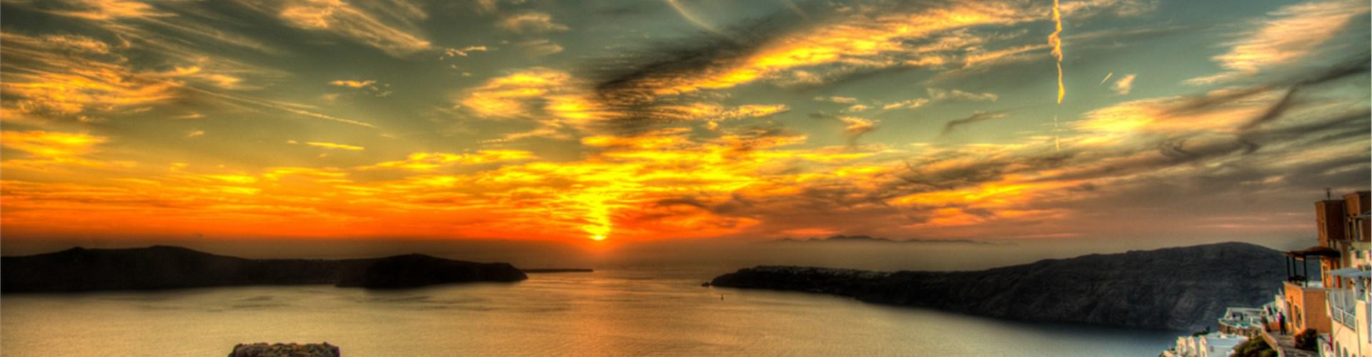 Sunset in Oia - Attractions - Santorini