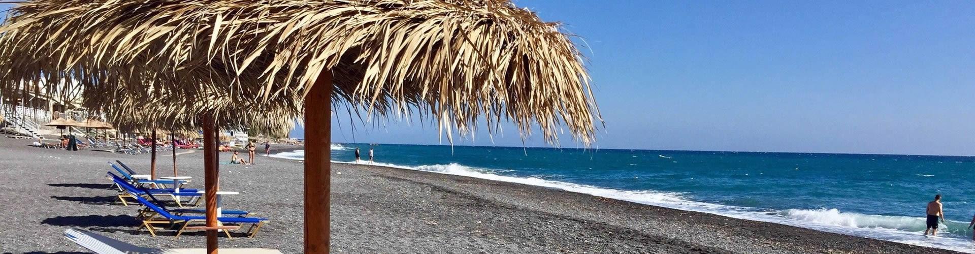 Kamari beach - Beaches - Santorini