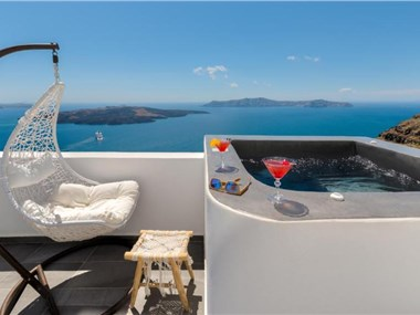 Katris Apartments, hotels in Fira