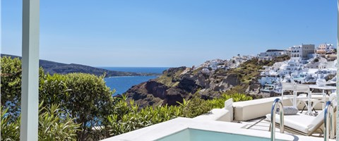 Canaves Suite Private Pool Caldera Sea View