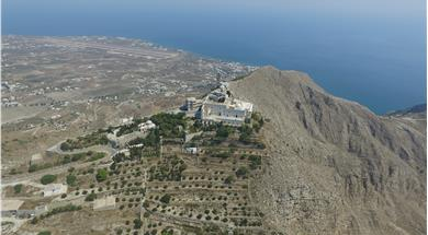 Prophet Elias Monastery - Attractions - Santorini