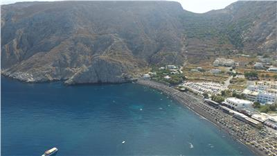 Kamari beach - Santorini