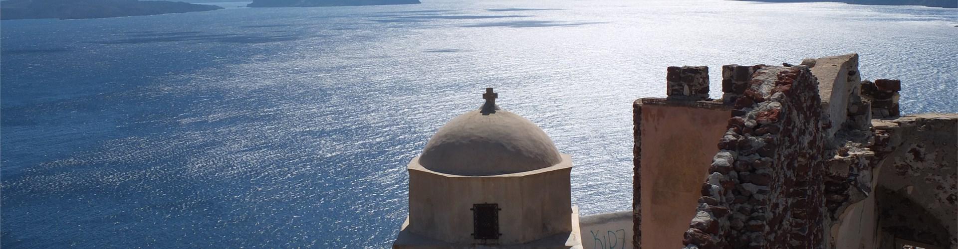 The Castle of Agios Nikolaos - Castles - Santorini