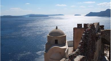 The Castle of Agios Nikolaos - Castles - Santorini