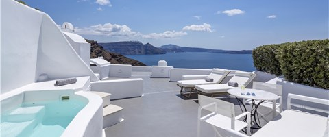 Grande Suite (2 Bedrooms) Plunge Pool Caldera Sea View