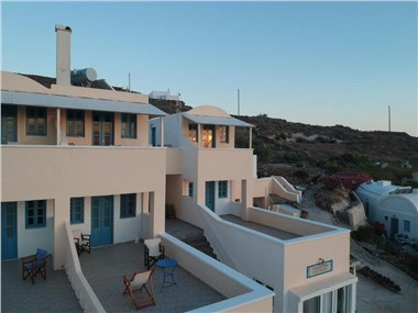 Panorama Oia Apartments, hotels in Oia