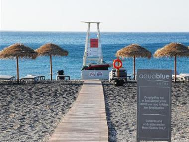 Aqua Blue Beach Hotel, hotels in Perissa