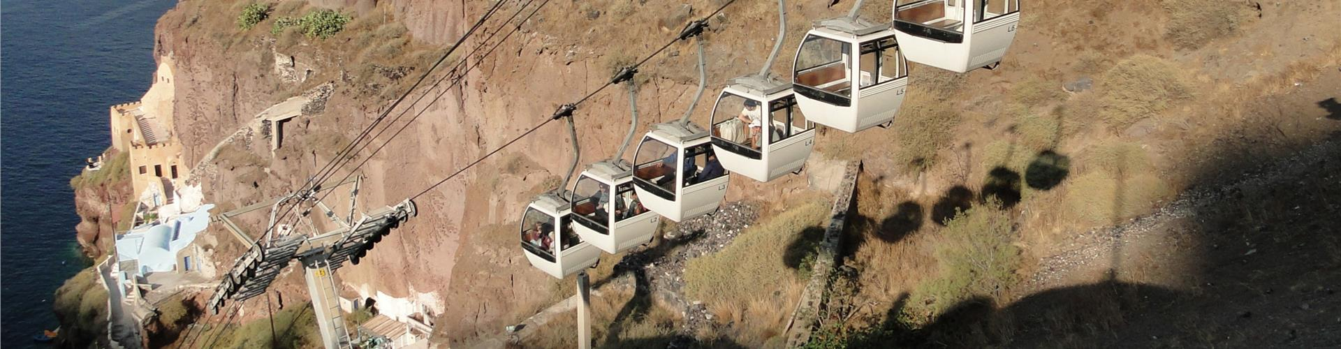Santorini Cable Car - Attractions - Santorini