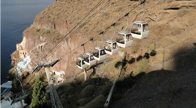 Santorini Cable Car - Attractions - Santorini