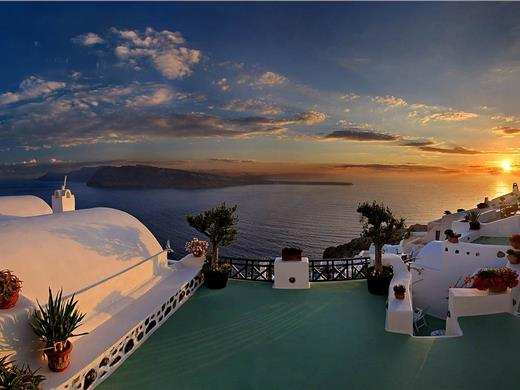 Bus transfer to Oia: Experience the most famous sunset in the world! - Bus tours - Santorini View