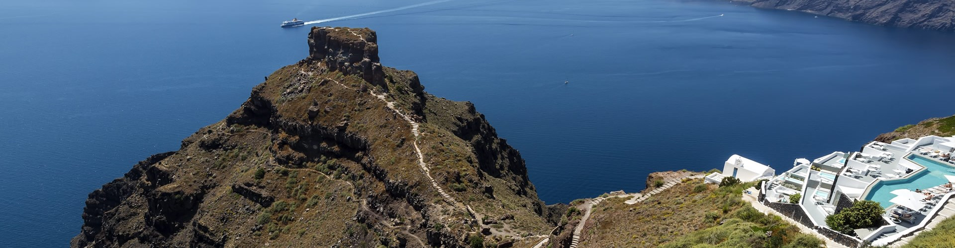 The castle of Skaros - Castles - Santorini
