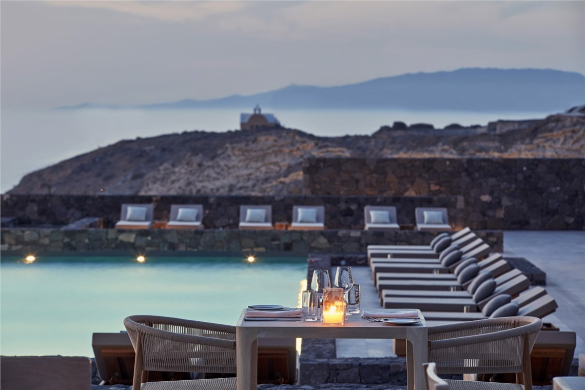 Restaurant of Canaves Oia Epitome
