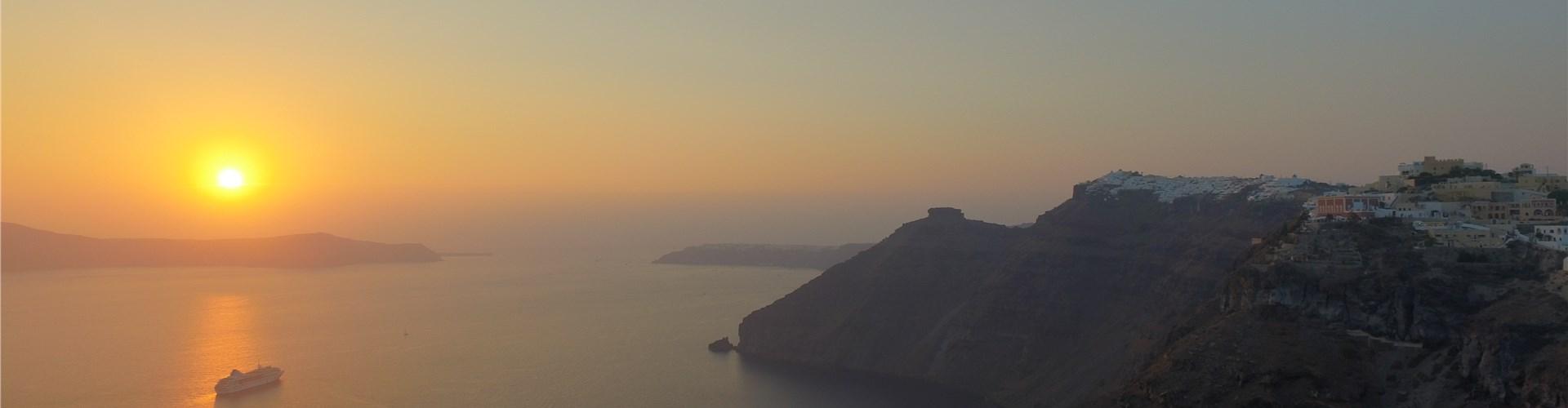 The fascinating Santorini