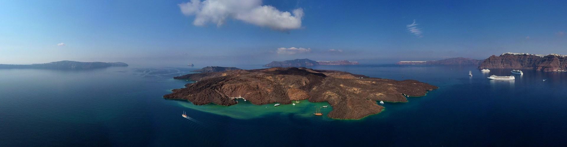 Santorini Volcano & Hot Springs - Attractions - Santorini
