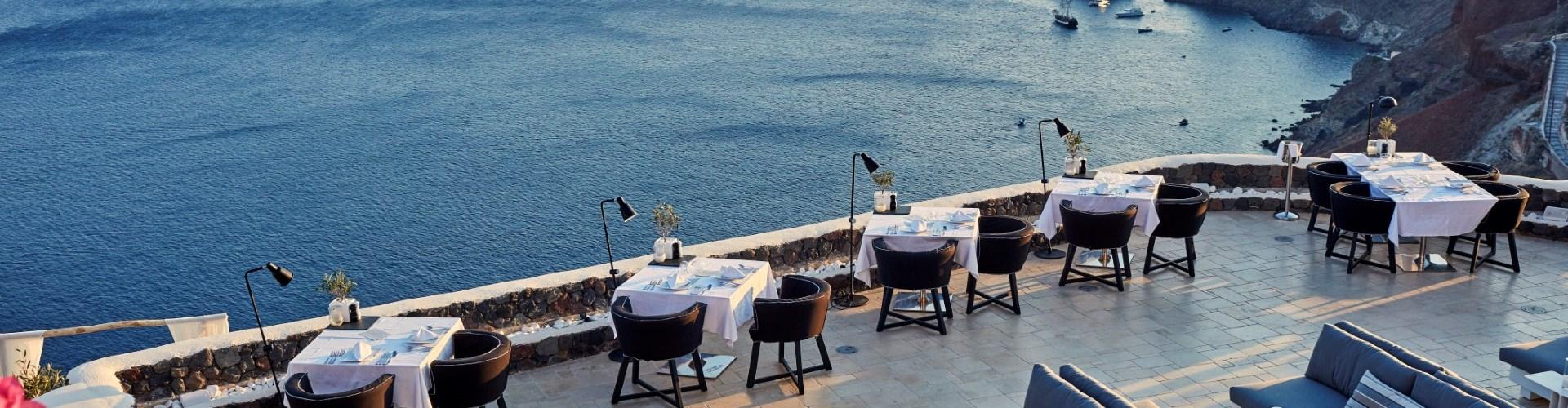 Petra Restaurant - Restaurants - Santorini