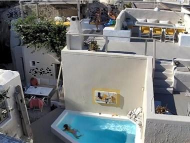 Canava Emborio Santorini, hotels in Emporio