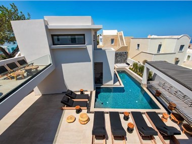 Uma Ray Suites, hotels in Fira