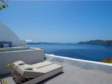 Echoes Luxury Suites, hotels in Oia