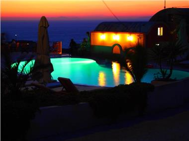 Ether Sunset Oia, hotels in Oia
