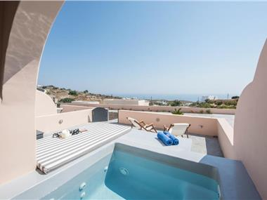 Perla Nera Suites, hotels in Fira
