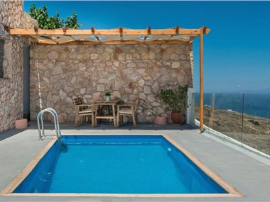 Dream Villa Santorini, hotels in Vourvoulos