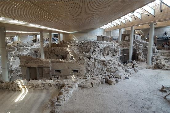 Photo of Visit the excavations of Akrotiri with an English speaking licensed tour guide