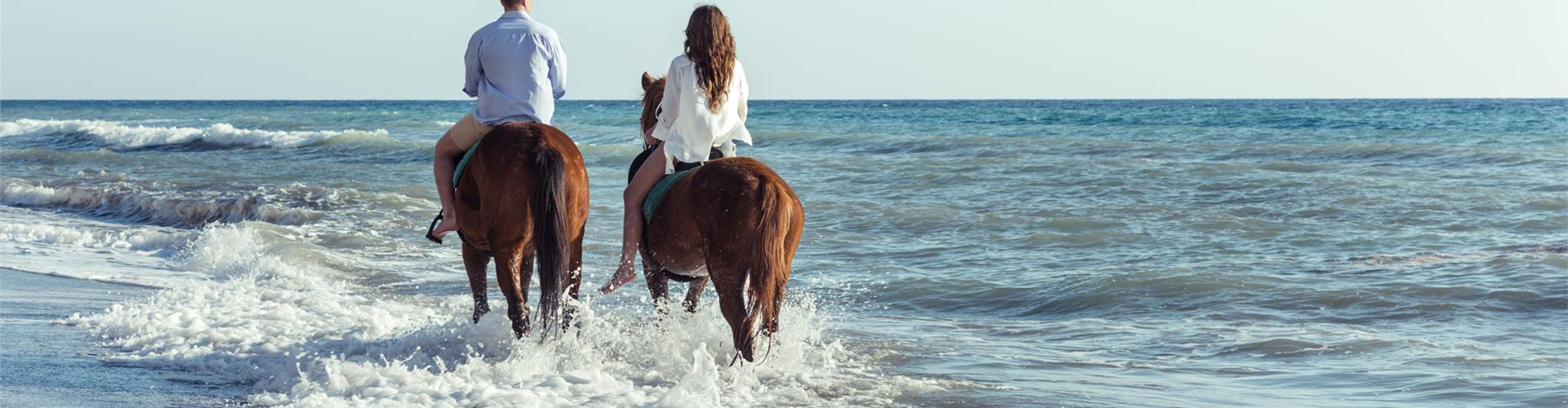Photo of Romantic Horse riding to Eros beach