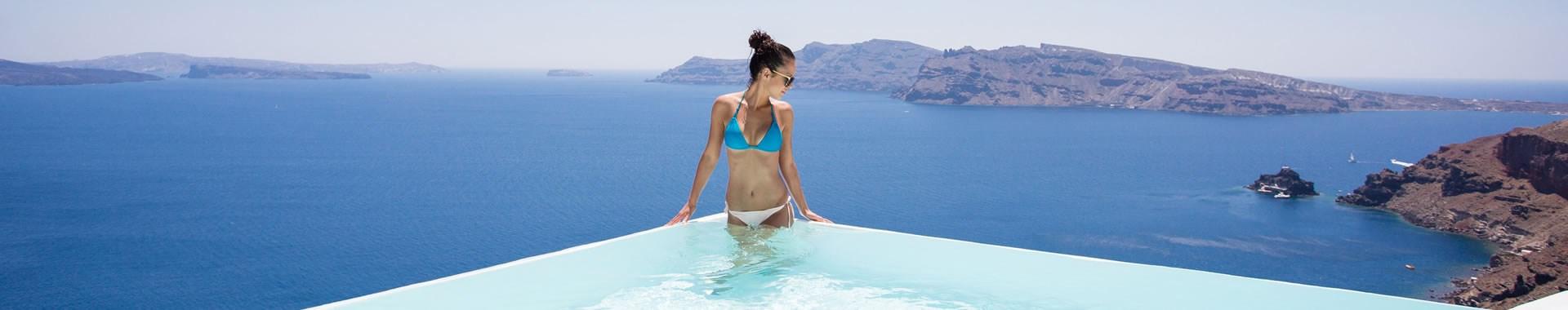 Firostefani or Pyrgos Santorini Suites