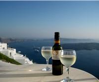 Santorini's white wines: unique in the world