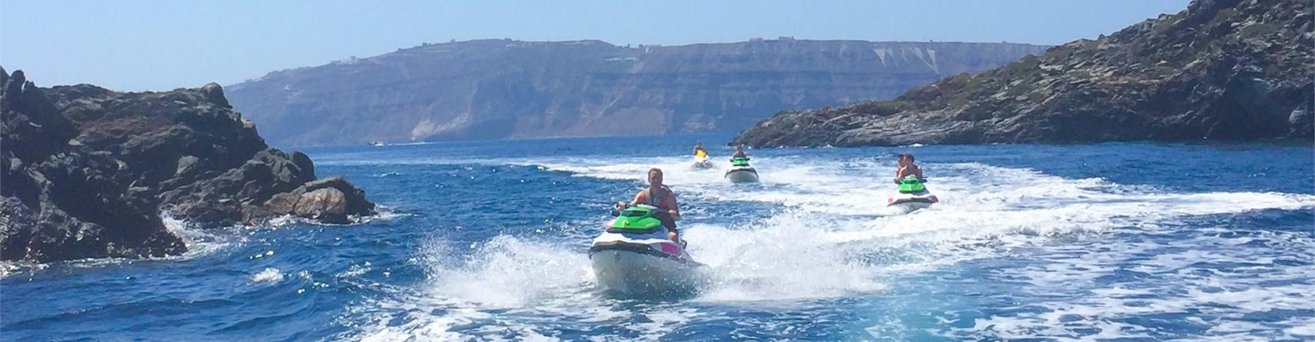 Photo of Exhilarating Jet Ski Safari to Volcano of Santorini
