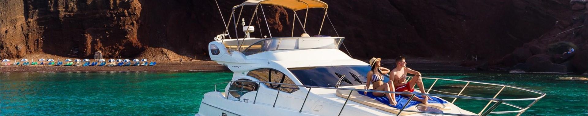 Private Boat Tours & Cruises in Santorini