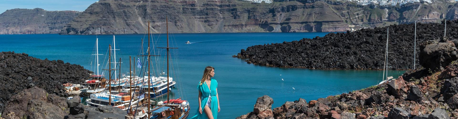 Photo of Santorini Volcano Boat Tour including Hot Springs & Therasia