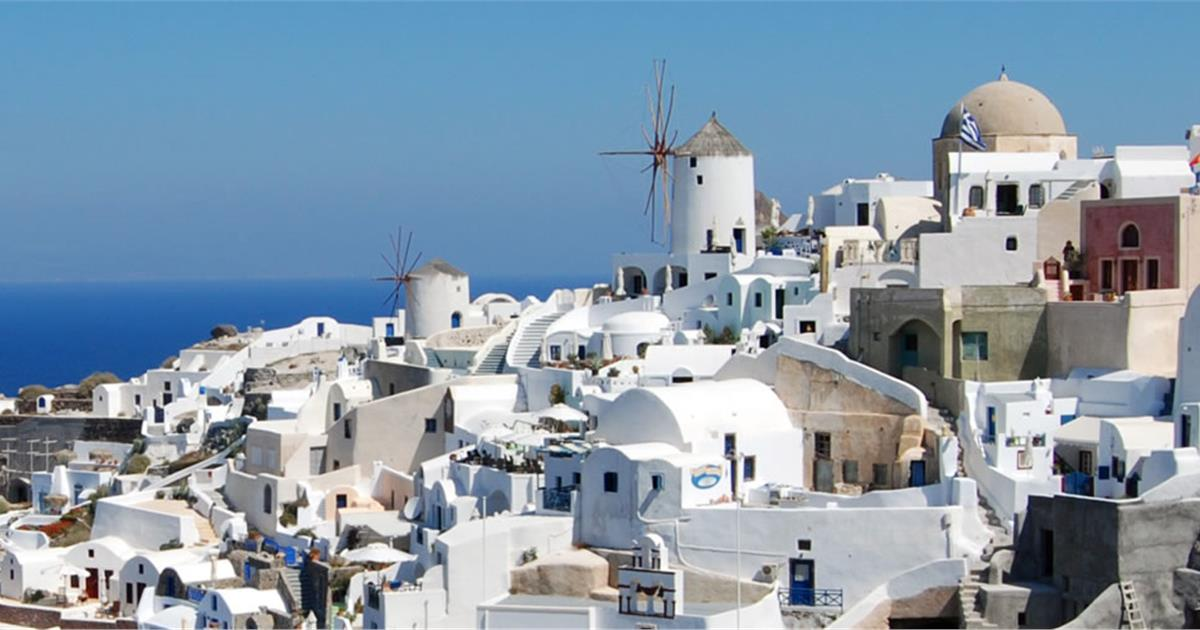 Why Are Most Houses White Painted In Santorini Santorini View