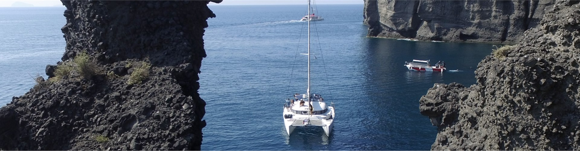 Photo of Full-Day Private Catamaran Cruise Tour with meal and drinks