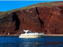 Photo of Private Motor Yacht Cruise in Santorini with BBQ Food and Drinks