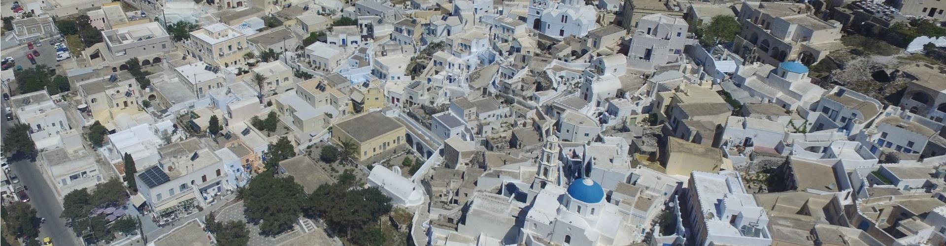 "Where does the name ""Santorini"" come from?"