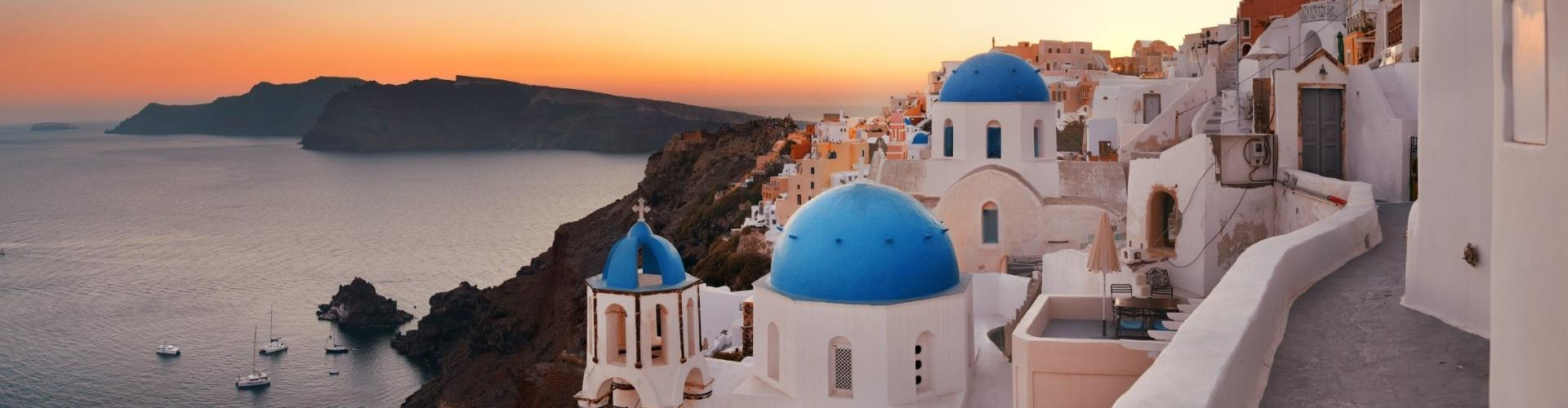 Photo of Bus tour to Blue Dome, Imerovigli & Sunset in Oia